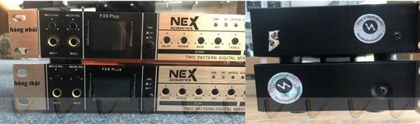 Phần khung nhôm vang cơ NEX FX8 nhái dày hơn