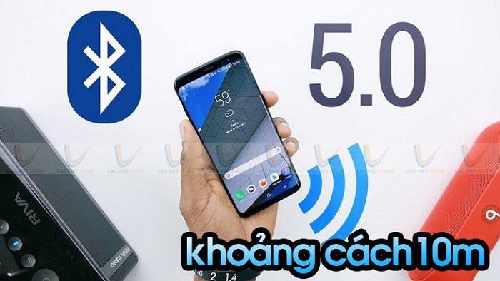 Sử dụng công nghệ kết nối không dây bluetooth 5.0 mạnh mẽ