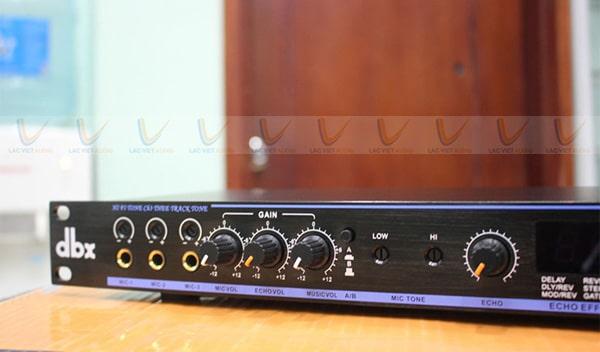 Vang cơ karaoke DBX là một trong những thương hiệu hàng đầu hiện nay