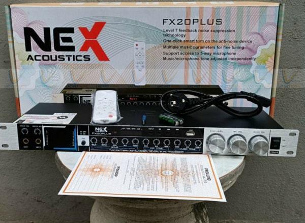 Vang cơ FX 20 Plus hỗ trợ nhiều cổng mic