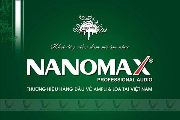 Vang cơ Nanomax là thương hiệu âm thanh của Việt Nam