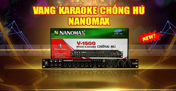 Vang cơ Nanomax thích hợp sử dụng cho dàn âm thanh gia đình