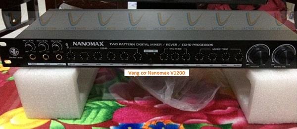 Vang cơ Nanomax V1200 được nhiều khách hàng lựa chọn cho dàn âm thanh gia đình