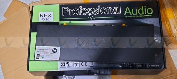 Vang NEX FX10 có khả năng chống hú rít tốt