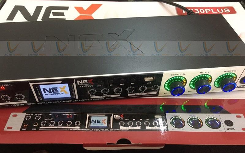 Vang cơ NEX FX30 Plus chống hú hiệu quả với công nghệ dịch chuyển tần số