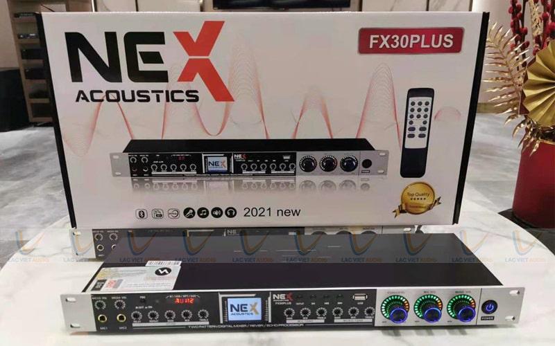 Vang cơ NEX FX30 Plus hỗ trợ tới 4 cổng mic đầu vào