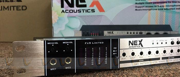 Vang cơ NEX FX9 Limited xử lý âm thanh chân thực, sáng