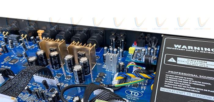 Vang cơ TD Acoustic T8 Plus sở hữu linh kiện chất lượng