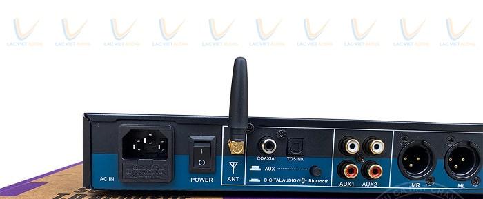 Vang cơ TD Acoustic T8 Plus tích hợp cổng quang optical phía sau