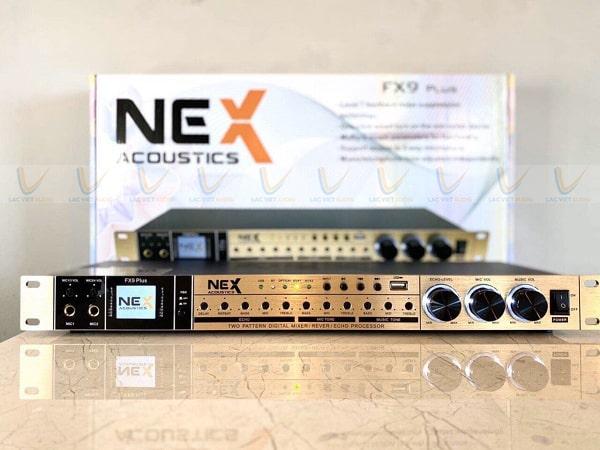 Vang NEX có thiết kế đẹp mắt, sang trọng với hệ thống nút điều chỉnh khoa học