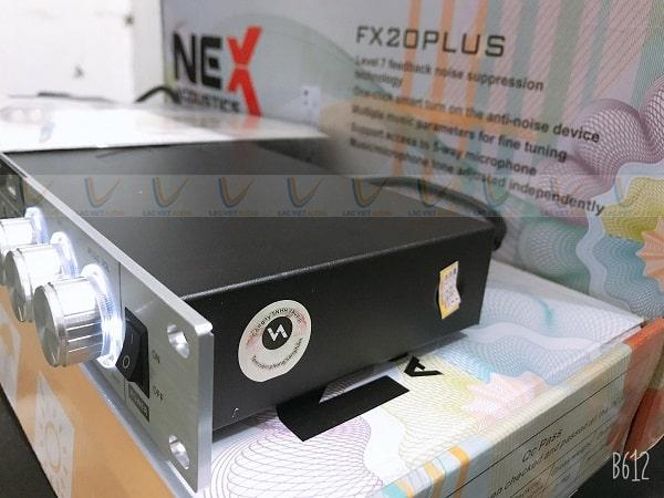 Vang NEX FX20 Plus chống hú, rít, rè hiệu quả