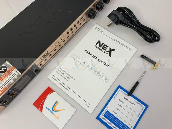 Vang NEX FX9 Plus chính hãng có đầy đủ phụ kiện