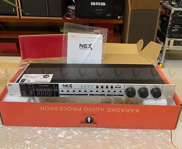 Vang NEX FX12 Pro được lựa chọn sử dụng phổ biến trong các dàn karaoke gia đình