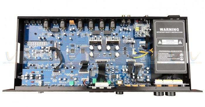 Vang TD Acoustic T8 Plus sở hữu công nghệ Processor Audio tiên tiếng hàng đầu