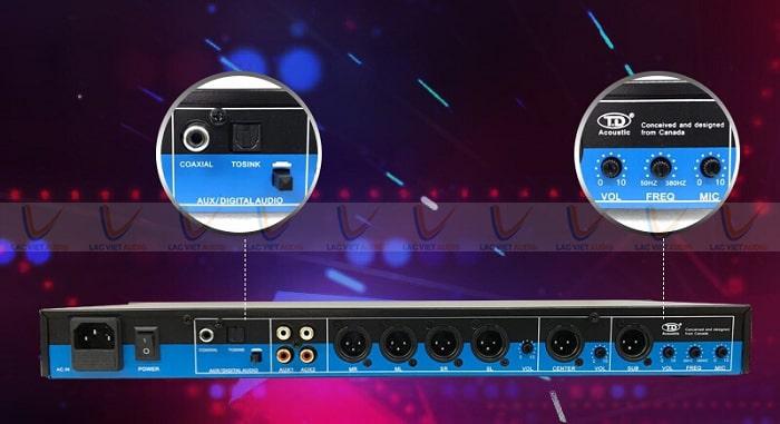 Vang cơ lai số TD Acoustic T8 tích hợp cổng Optical
