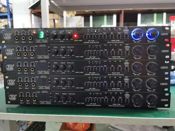 Vang cơ TD Q800 cho chất âm thanh mượt mà, sáng trong