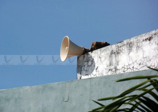 Hệ thống loa phát thanh có thể hoạt động trong điều kiện cắt điện