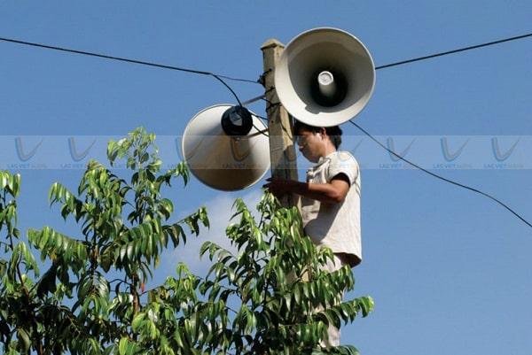 Nhạc loa phát thanh thường được phát trước chương trình phát sóng