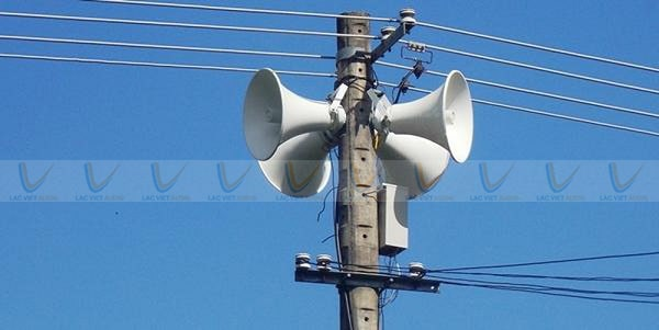 Nhu cầu sử dụng loa truyền thanh vẫn khá phổ biến