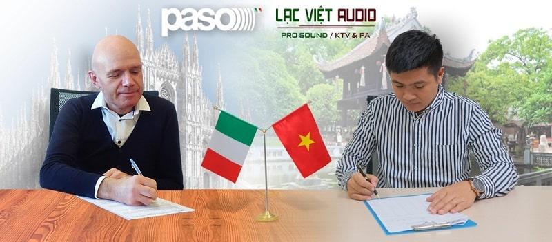 Lạc Việt Audio hợp tác với Paso trở thành nhà phân phối độc quyền tại Việt Nam