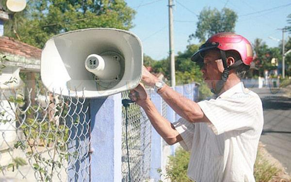 Thường xuyên kiểm tra bảo dưỡng bộ loa phát thanh để chúng bền hơn