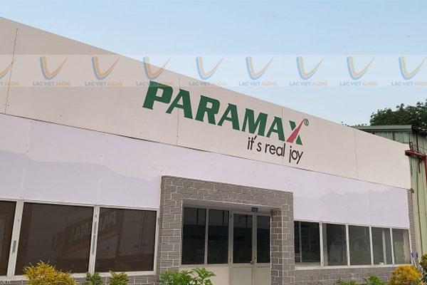 Loa Paramax của nước nào sản xuất, nguồn gốc thương hiệu