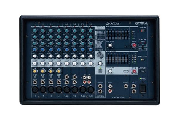 Bàn mixer Yamaha EMX 512SC