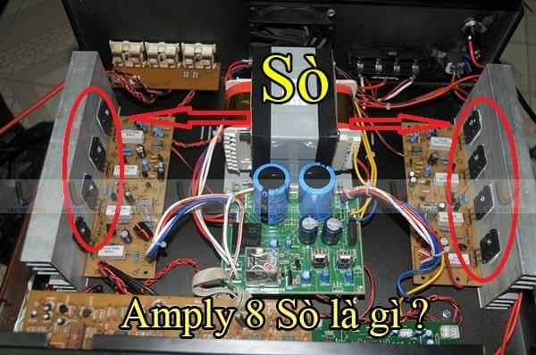 Amply 8 sò là gì?