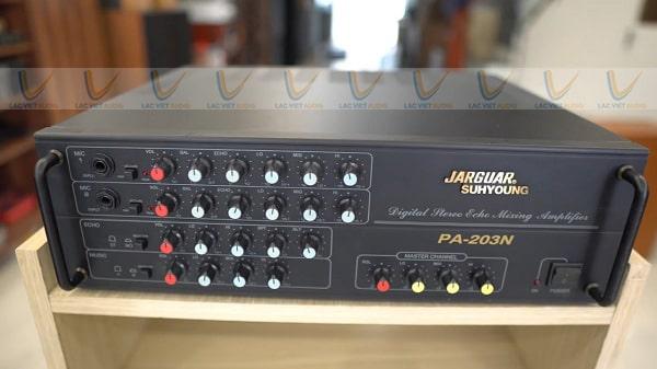 Amply karaoke 8 sò Jarguar PA 203N: Giá 5.650.000 đồng
