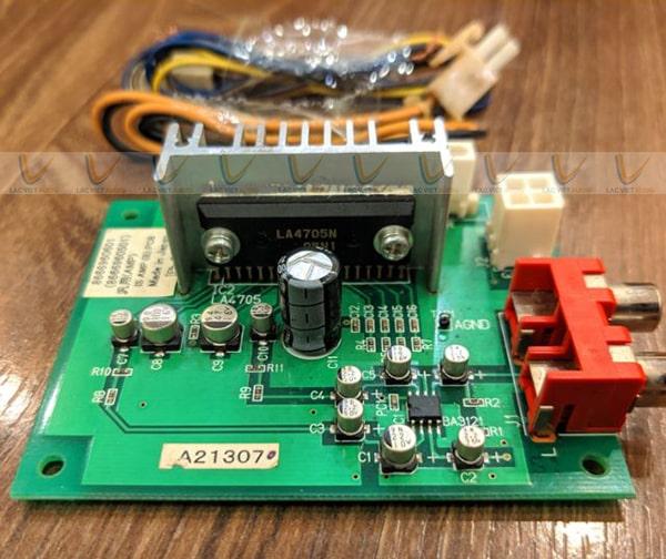 Chất lượng âm thanh của mạch âm thanh class Ab khá hay và chân thực