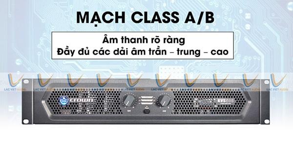 Cục đẩy class AB Crown KVS 500: Giá 12.650.000 đồng