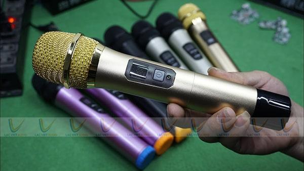 Độ mic hát karaoke giúp bắt sóng khoẻ hơn