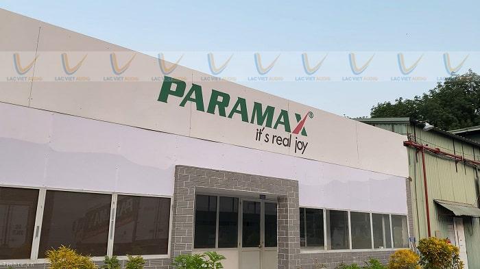 Loa Paramax sản xuất ở đâu?