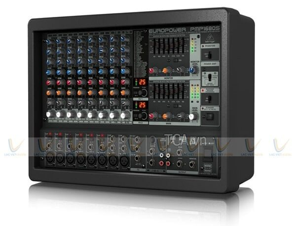 Mua mixer liền công suất chính hãng tại Lạc Việt Audio