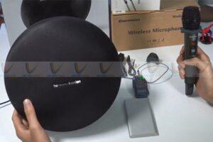 Cách kết nối micro không dây với loa bluetooth