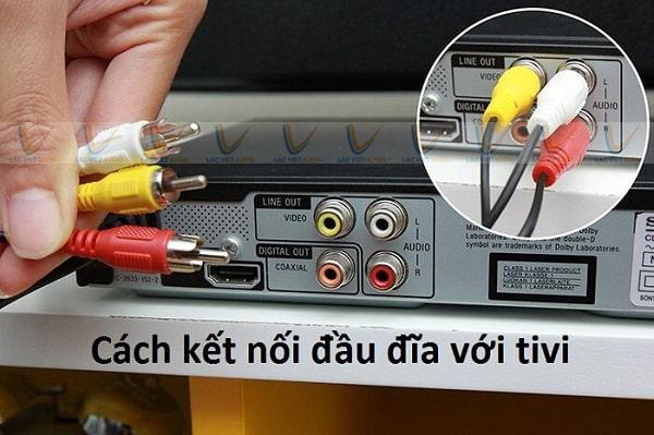 Cách kết nối đầu karaoke với tivi