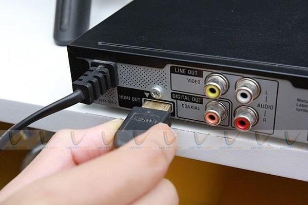Cách kết nối tivi với đầu karaoke qua cổng HDMI