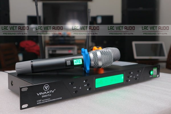 Micro VinaKTV thương hiệu âm thanh của Việt Nam