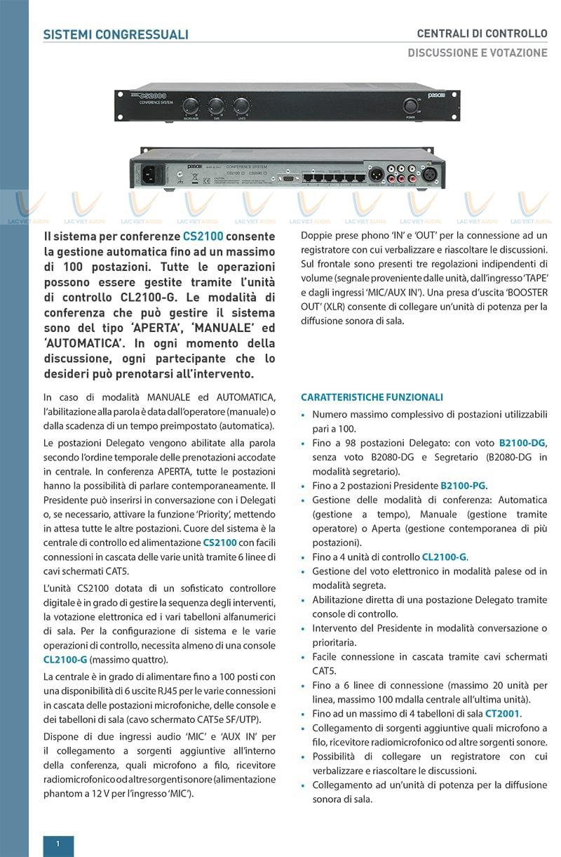 Catalog của sản phẩm