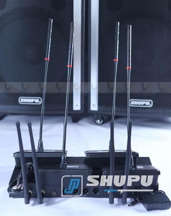 Micro cổ ngỗng SHUPU cho chất lượng âm thanh chân thực