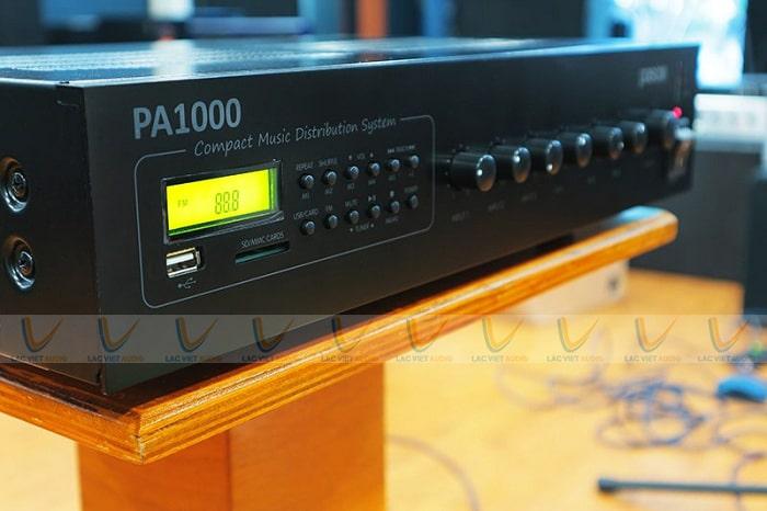 Amply thông báo Paso chất lượng hàng đầu hiện nay